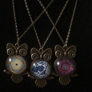 Cute owl neckles